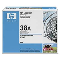 HP 38A Black LaserJet Toner Cartridge
