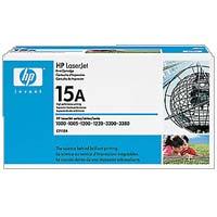 HP 15A LaserJet Black Toner Cartridge