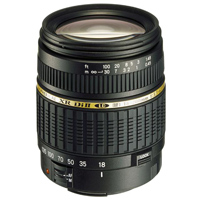 Tamron AF 18-200 f3.5 - 6.3 XR Di II LD lens (IF) with Hood for Nikon Mount