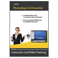 Amazing eLearning Adobe Photoshop CS3 Video Training (PC)