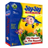 PC Treasures JayJay the Jet Plane: Sky Heroes to the Rescue (PC)