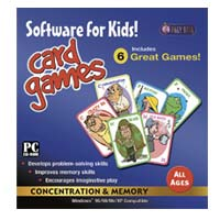 PC Treasures Software for Kids! Card Games (PC)