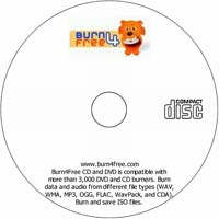MCTS Burn4Free CD and DVD