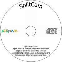 MCTS SplitCam - Shareware/Freeware CD (PC)