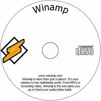 MCTS Winamp - Shareware/Freeware CD (PC)