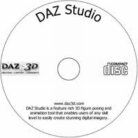 MCTS DAZ Studio - Shareware/Freeware CD (PC)