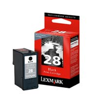 Lexmark 18C1428 #28 Black Return Program Ink Cartridge
