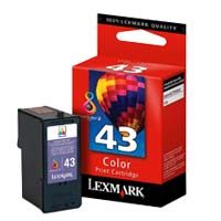Lexmark 18Y0143 #43 Color Print Cartridge