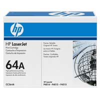 HP CC364A LaserJet Black Toner Cartridge