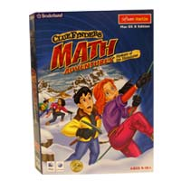 MacKiev ClueFinders Math Adventures-Mystery of the Himalayas (Mac)