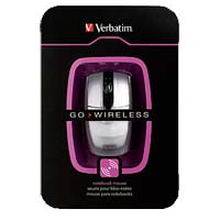 Verbatim Wireless Notebook Laser Mouse - Silver