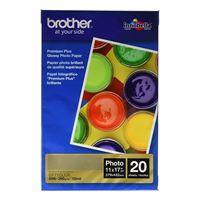 "Brother Ledger-size Glossy Photo Paper 11""x17"" 20-Sheets"
