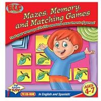 PC Treasures Early Learning Fun: Mazes, Memory, and Matching Games (PC)