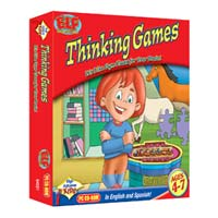 PC Treasures Early Learning Fun: Thinking Games (PC)