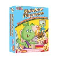 PC Treasures Toddler's Toybox: Rainbow Playroom (PC)