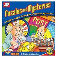 PC Treasures Junior Professor: Puzzles and Mysteries (PC)