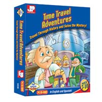 PC Treasures Junior Professor: Time Travel Adventures (PC)