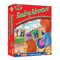 PC Treasures Early Learning Fun: Reading Adventure (PC)