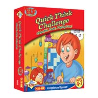 PC Treasures Early Learning Fun: Quick Think Challenge