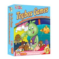 PC Treasures Toddler's Toybox: Toybox Games
