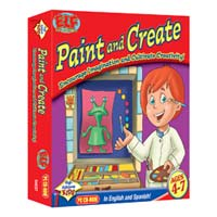 PC Treasures Early Learning Fun: Paint and Create (PC)