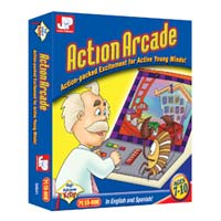 PC Treasures Junior Professor Action Arcade (PC)