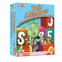 PC Treasures Toddler's Toybox: Train Adventures (PC)