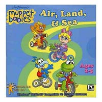 PC Treasures Muppet Babies Air, Land, & Sea (PC)