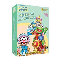 PC Treasures Muppet Babies: Shapes and Colors