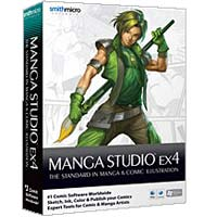 Smith Micro Manga Studio EX 4 (Win/Mac)