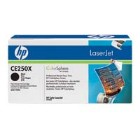 HP CE250X LaserJet Black Toner Cartridge