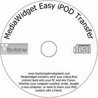 MCTS MediaWidget Easy iPod Transfer