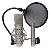 Omnitronics CAD Condenser Microphone Studio Pack