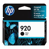 HP HP 920 Black Ink Cartridge (CD971AN)