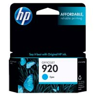 HP HP 920 Cyan Ink Cartridge (CH634AN)