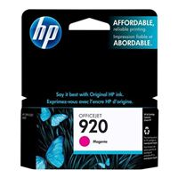 HP HP 920 Magenta Ink Cartridge (CH635AN)