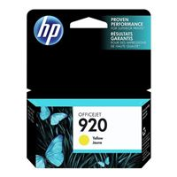 HP HP 920 Yellow Ink Cartridge (CH636AN)