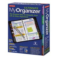 Avanquest MyUltimate Organizer (PC)