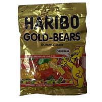 Continental Concession Supplies Haribo Gold Gummi Bears Candy