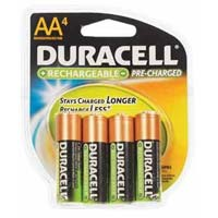 Duracell AA Rechargeable Battery 4 Pack