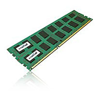 Crucial 4GB DDR3-1333 (PC-10666) CL9 Dual Channel Desktop Memory Kit (Two 2GB Memory Modules)