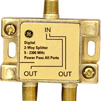 GE 2-Way Digital Video Splitter