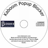 MCTS KaBoom Popup Blocker Free Edition 2.2