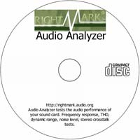 MCTS Audio Analyzer 6.2.1 - Shareware/Freeware CD (PC)