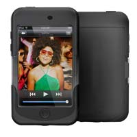iSkin Inc iSkin Duo Touch 2G Soft Silicone Case - Black