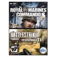 City Interactive Battlestrike Action Pack: The Royal Marines Commando/Battlestrike Force of Resistance II (PC)