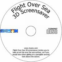 MCTS Flight Over Sea 3D Screensaver 2.4