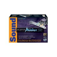 Creative Labs Sound Blaster Audigy SE PCI Sound Card