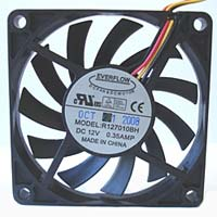 Cooljag 70mm Slim Computer Cooling Fan