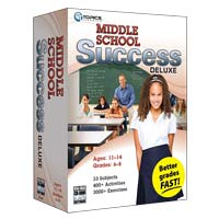TOPICS Entertainment Middle School Success Deluxe (PC / Mac)